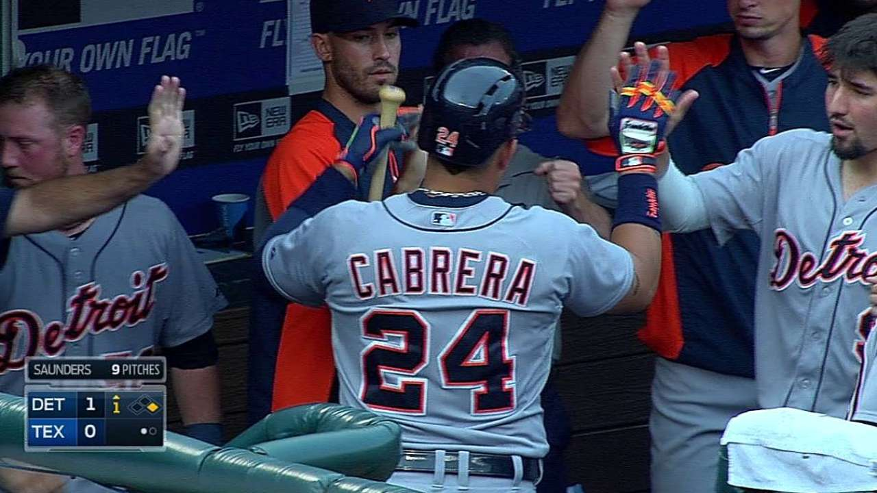 Cabrera closing in on All-Star start