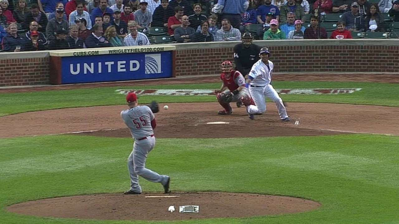 Offense goes quiet as Cubs drop series to Reds