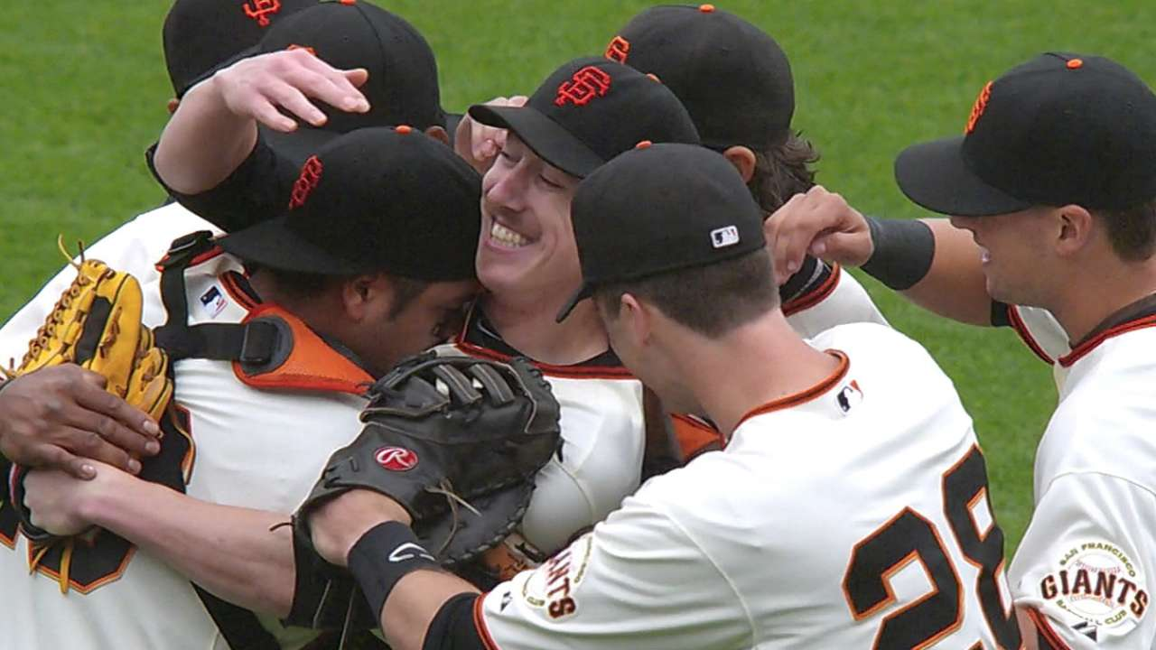 Lincecum readies for second no-no encore