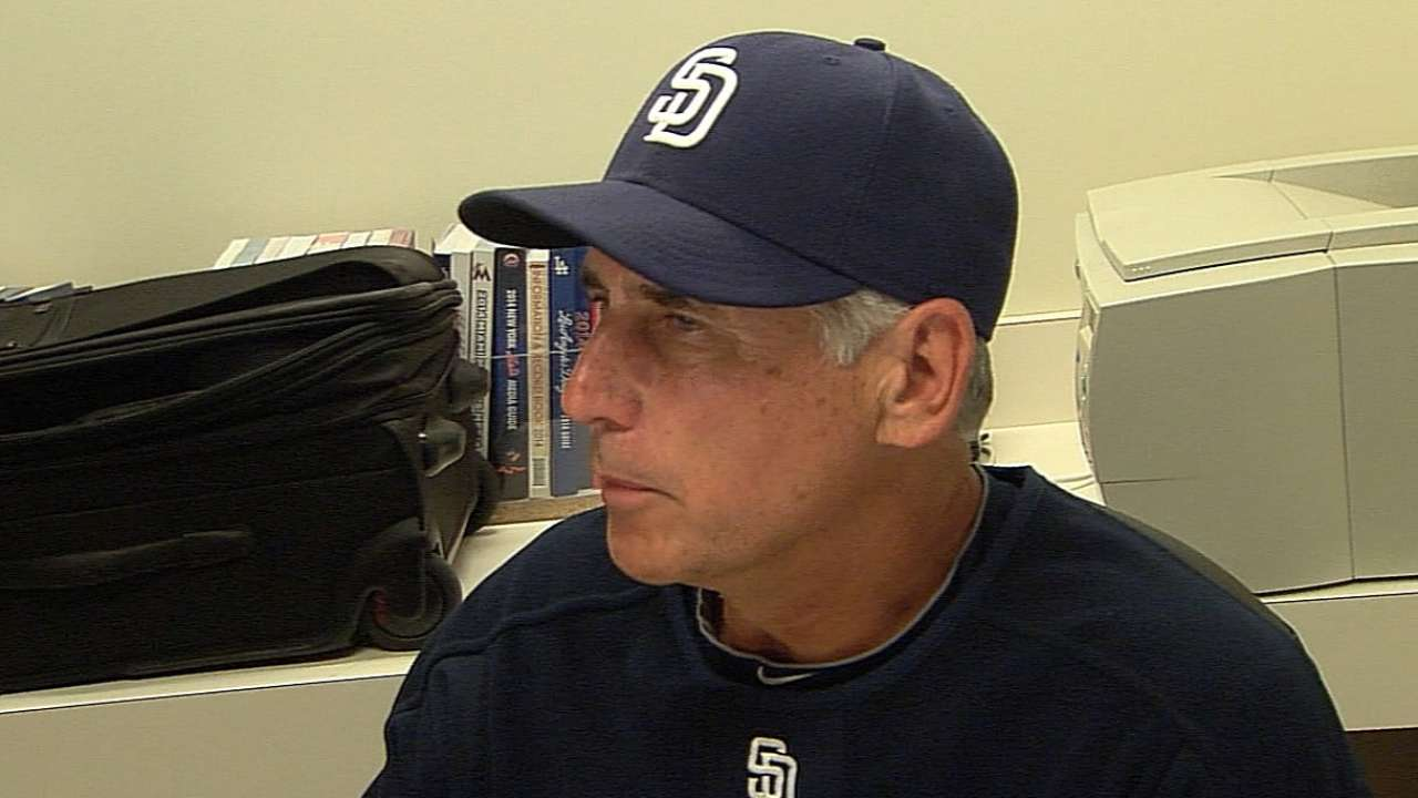 Black insists Padres won't dwell on no-hitter