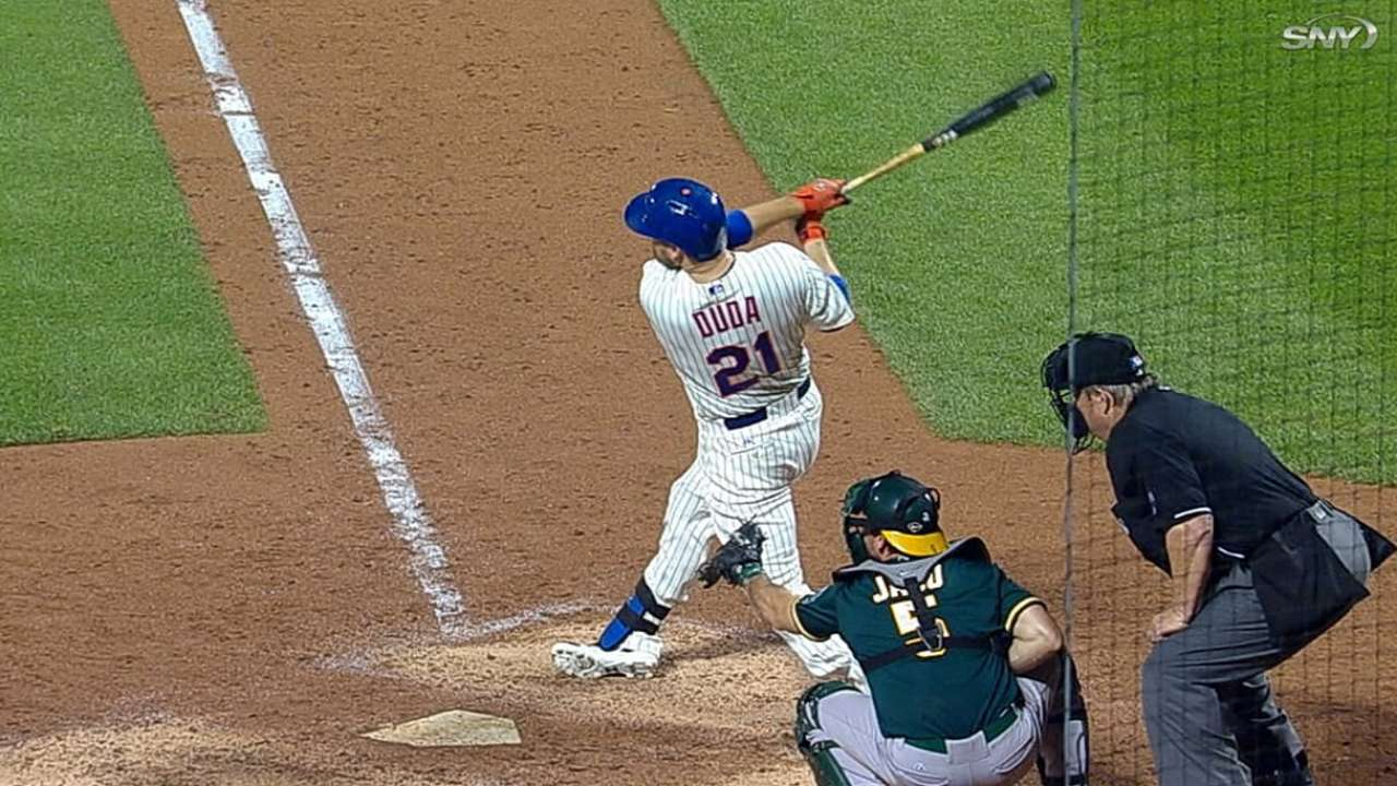 Wheeler off his game as Mets fall to A's