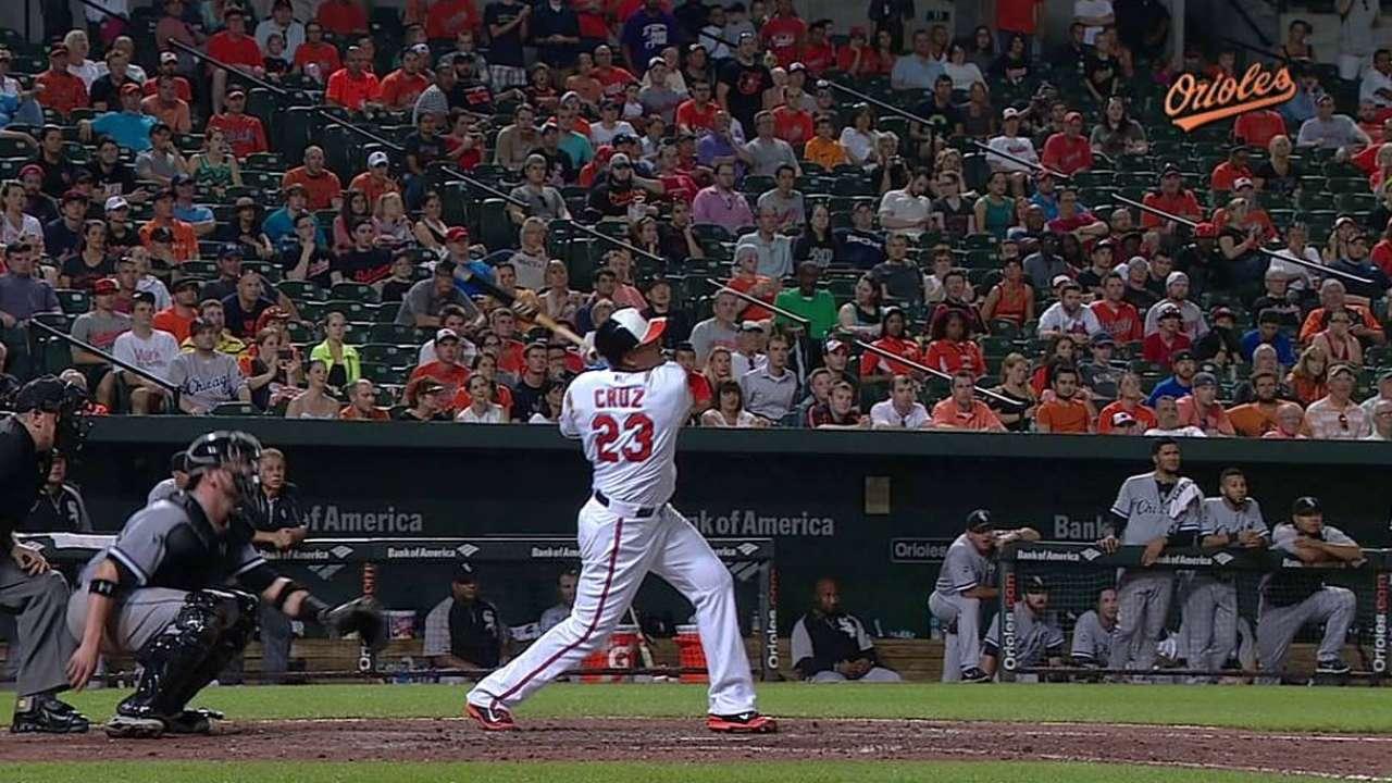 Orioles reaccionan y vencen a White Sox en la 12da