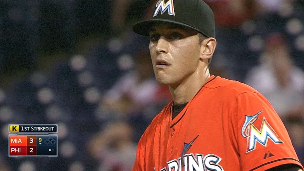 Marlins see Cishek as deserving of All-Star nod