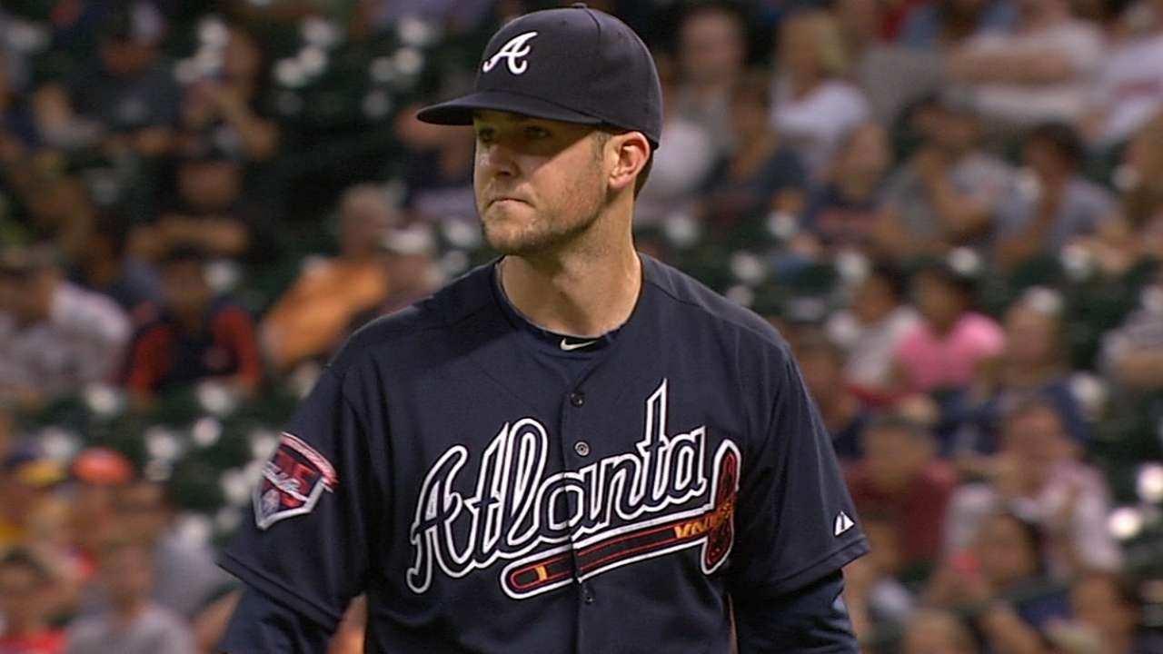 Wood dominates in return to Braves' rotation