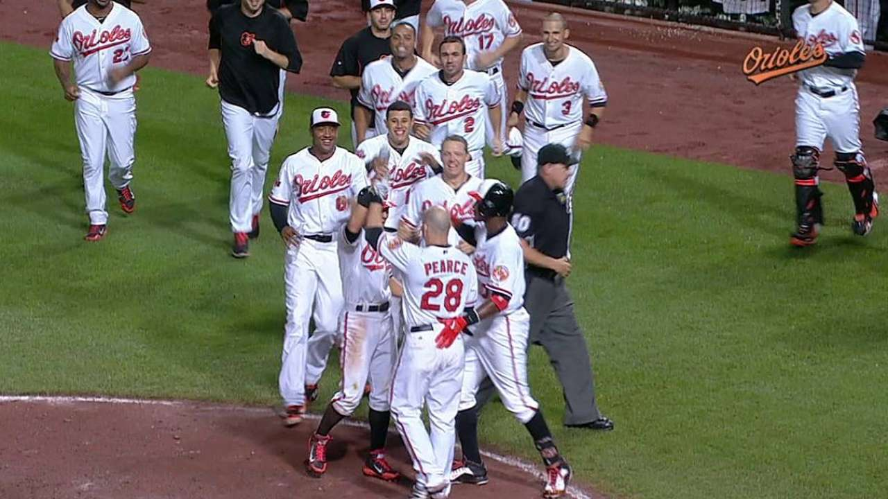 Wild finish in 12th gives Orioles comeback victory