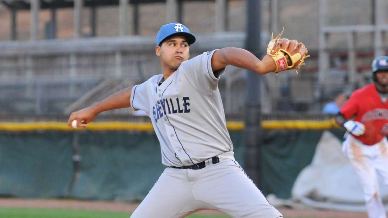 Prospects Senzatela, Neiman combine on one-hitter