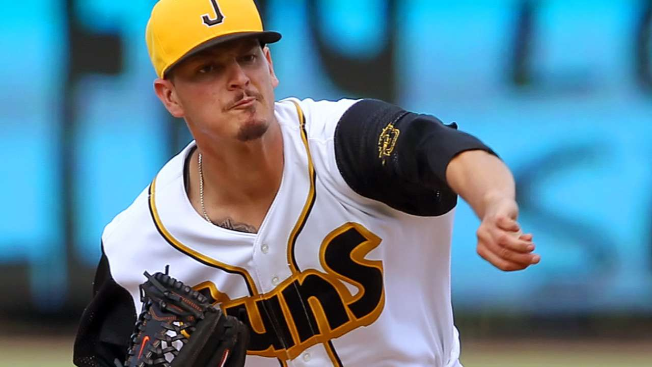Finesse lefty Nicolino a potential back-end starter