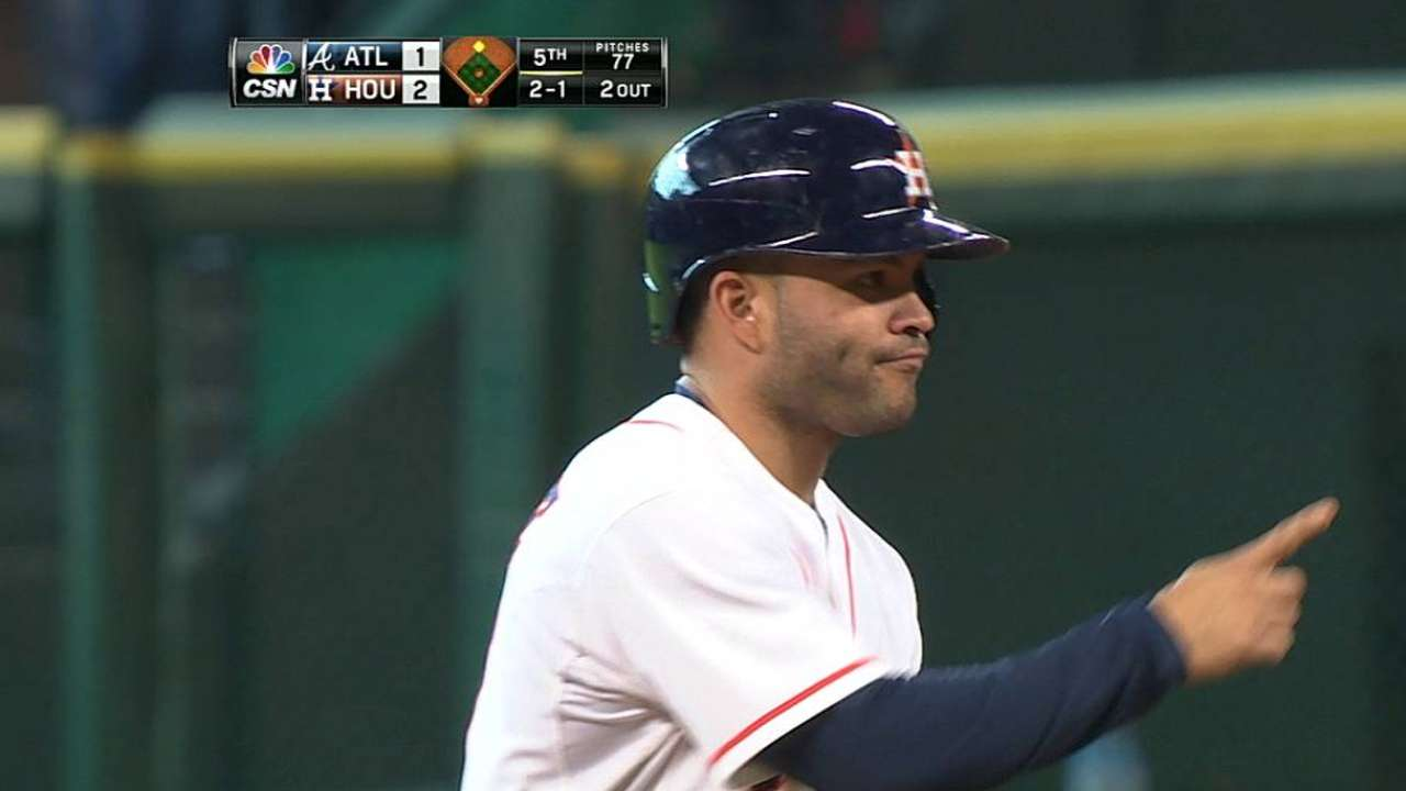 Altuve's league-leading numbers pad All-Star case