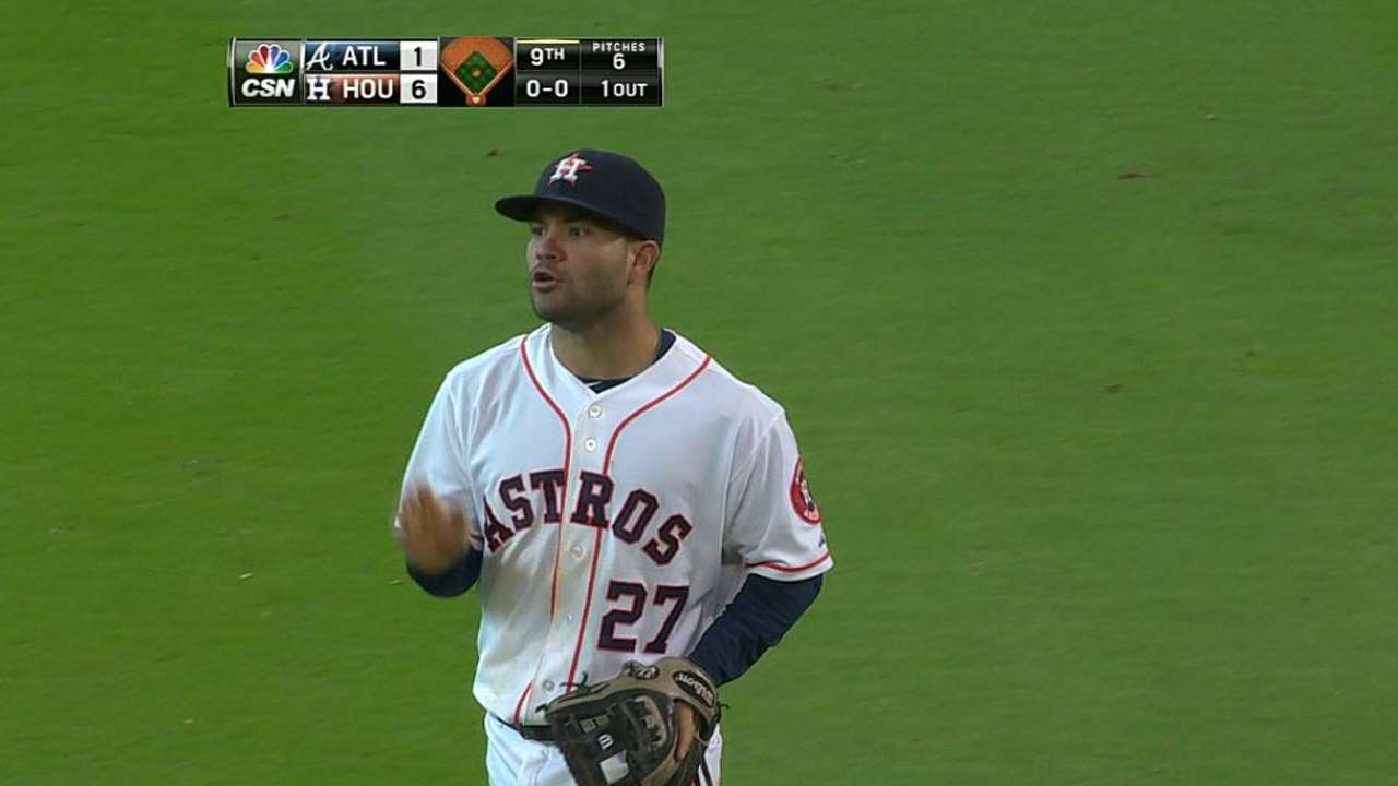 Altuve not short on talent, desire to be great player