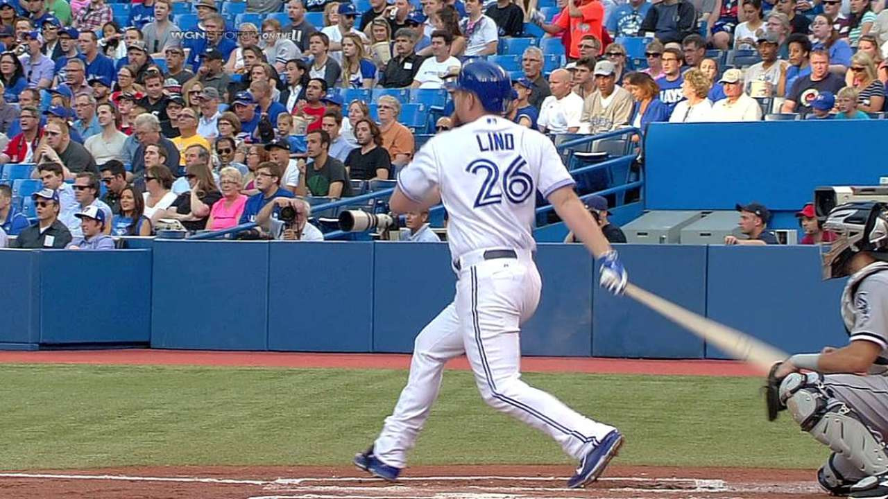 Reyes da cuatro hits y Toronto blanquea a Chicago