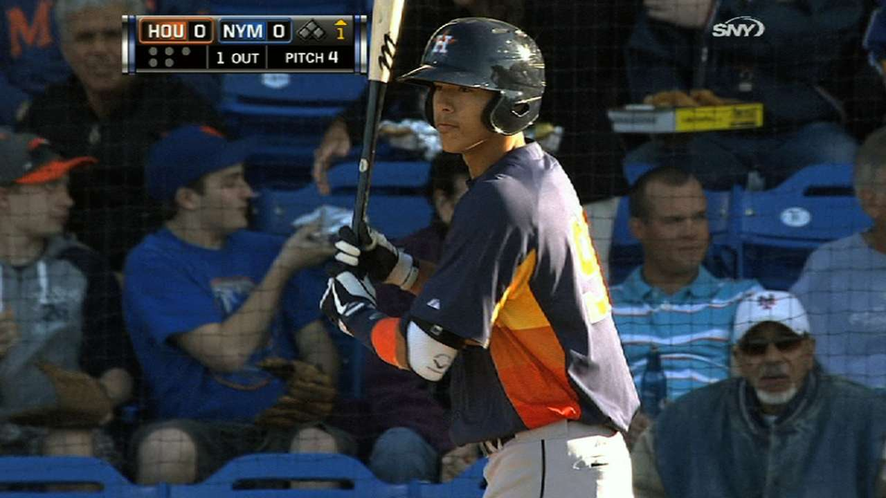 No. 1 picks lead seven Astros on Top 100 Prospects