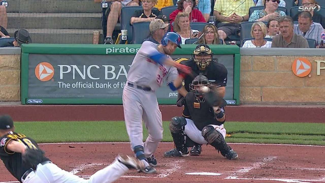 Long ball downs Dice-K, Mets in Pittsburgh
