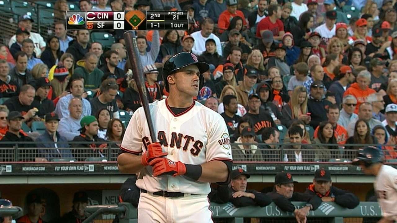 Duvall's MLB debut