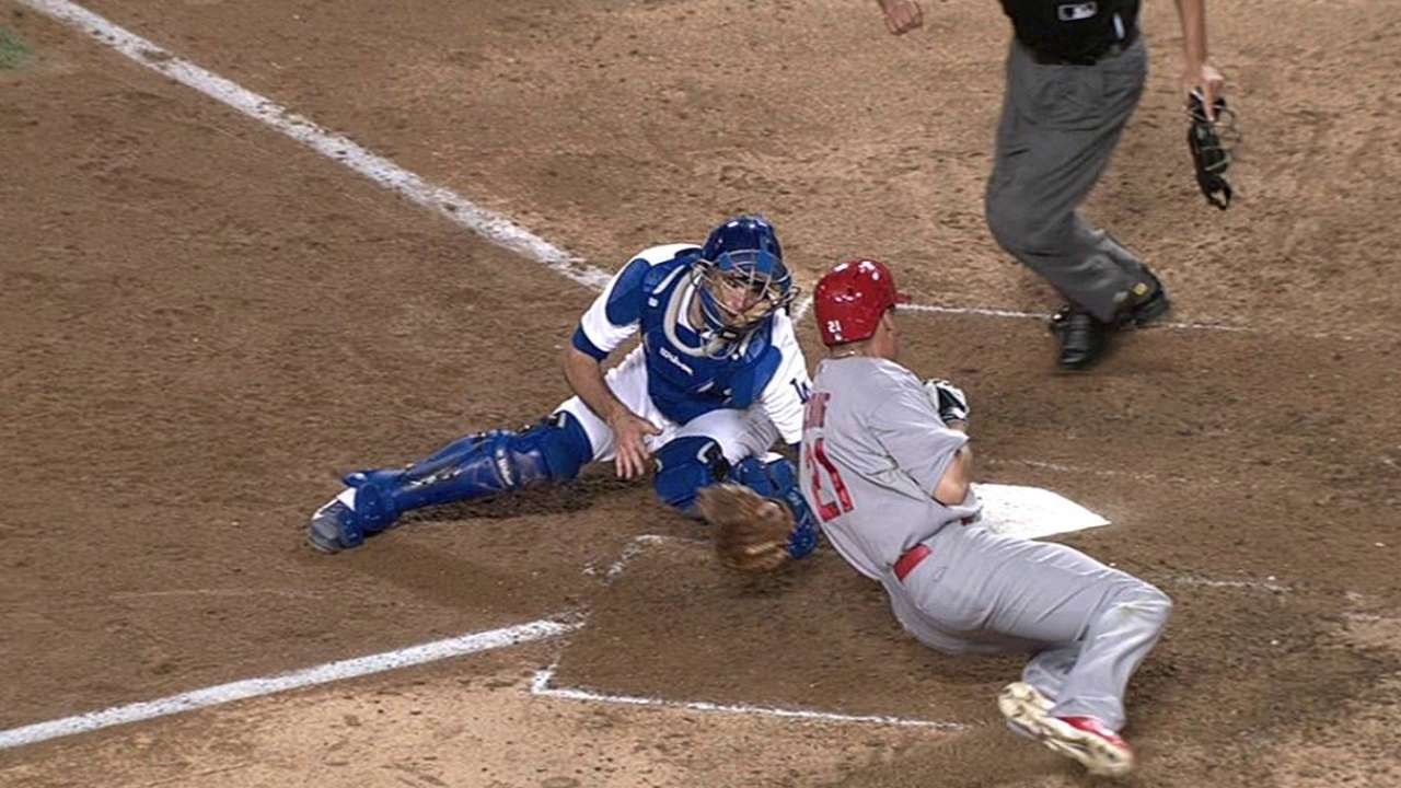 Dodgers get pair of replay confirmations vs. Cardinals