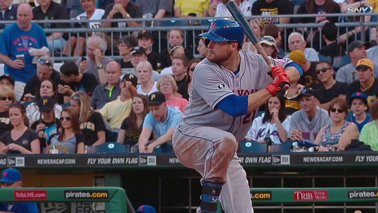 More time at first base has helped Duda on offense