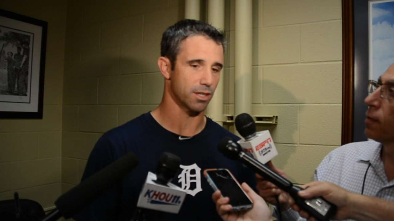 Former Astro Ausmus returns to Minute Maid Park