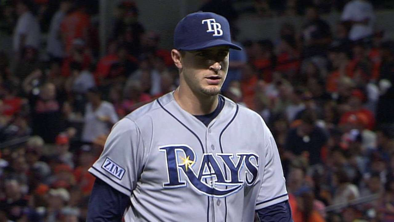 Odorizzi battles, but Rays drop nightcap