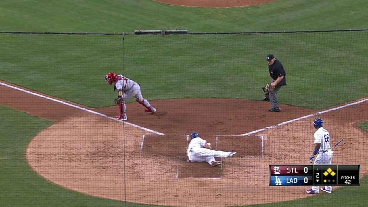 Gordon pega 3 hits pero Dodgers caen con S.L.