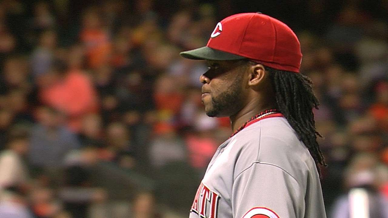 Reds not fretting Cueto's All-Star availability