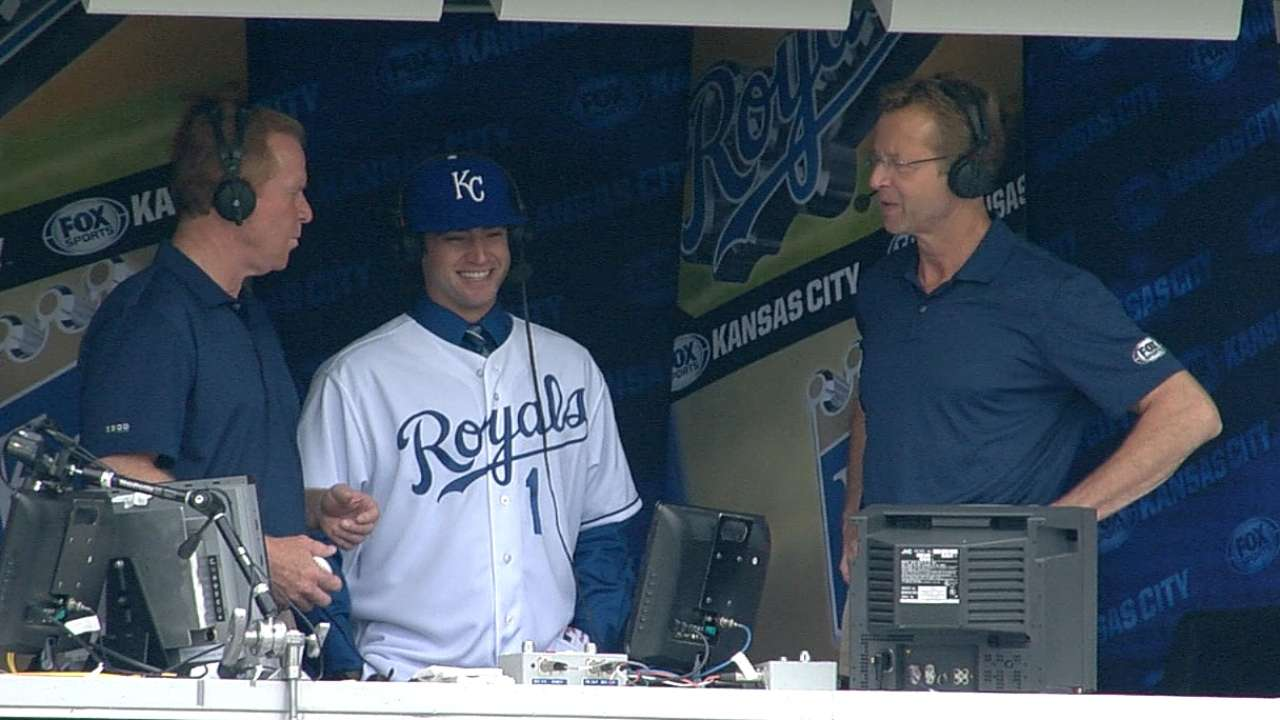 Royals sign their top Draft selection Finnegan