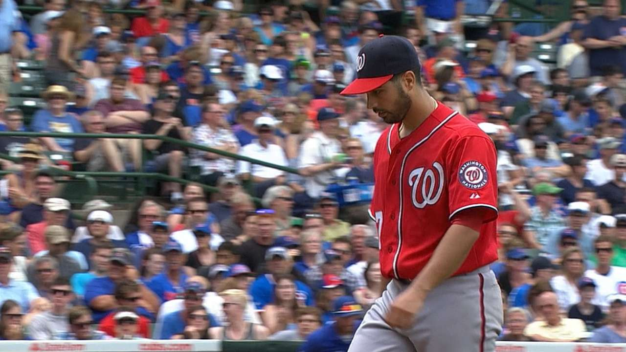 Gio spins gem as Nats blank Cubs in Game 1