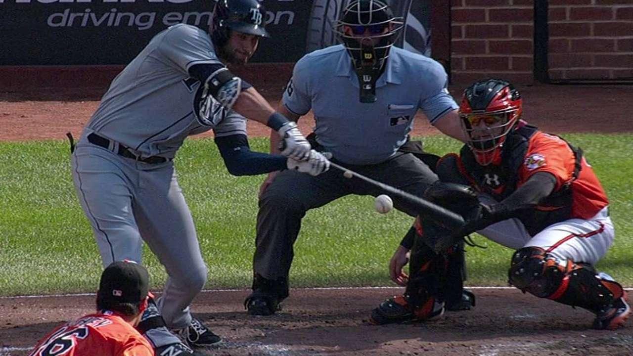 Rays dieron tres jonrones para doblegar a Orioles