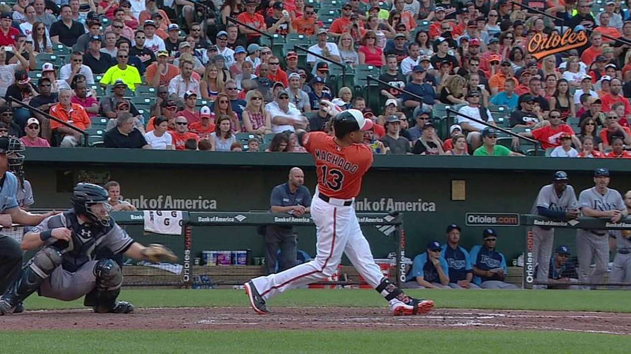 Early homers sting Chen; late O's rally falls short