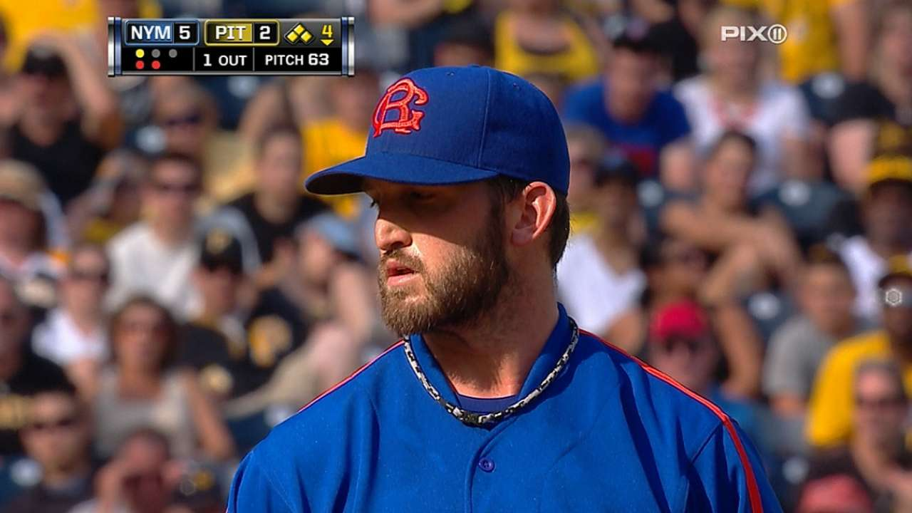 Niese expects to return from DL for Monday start
