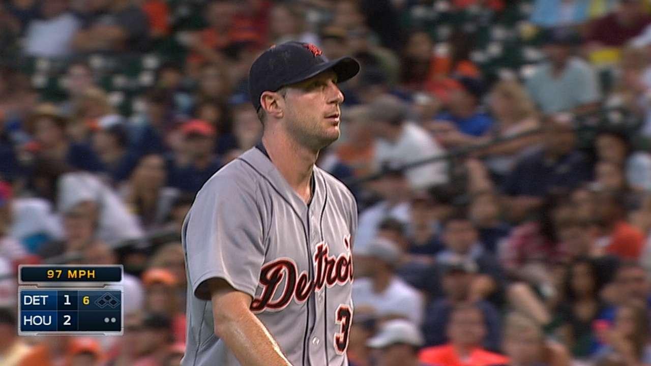 Scherzer's 13 strikeouts