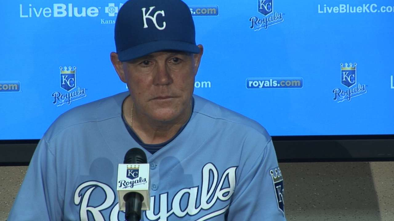 Royals offering ticket exchange for Sunday