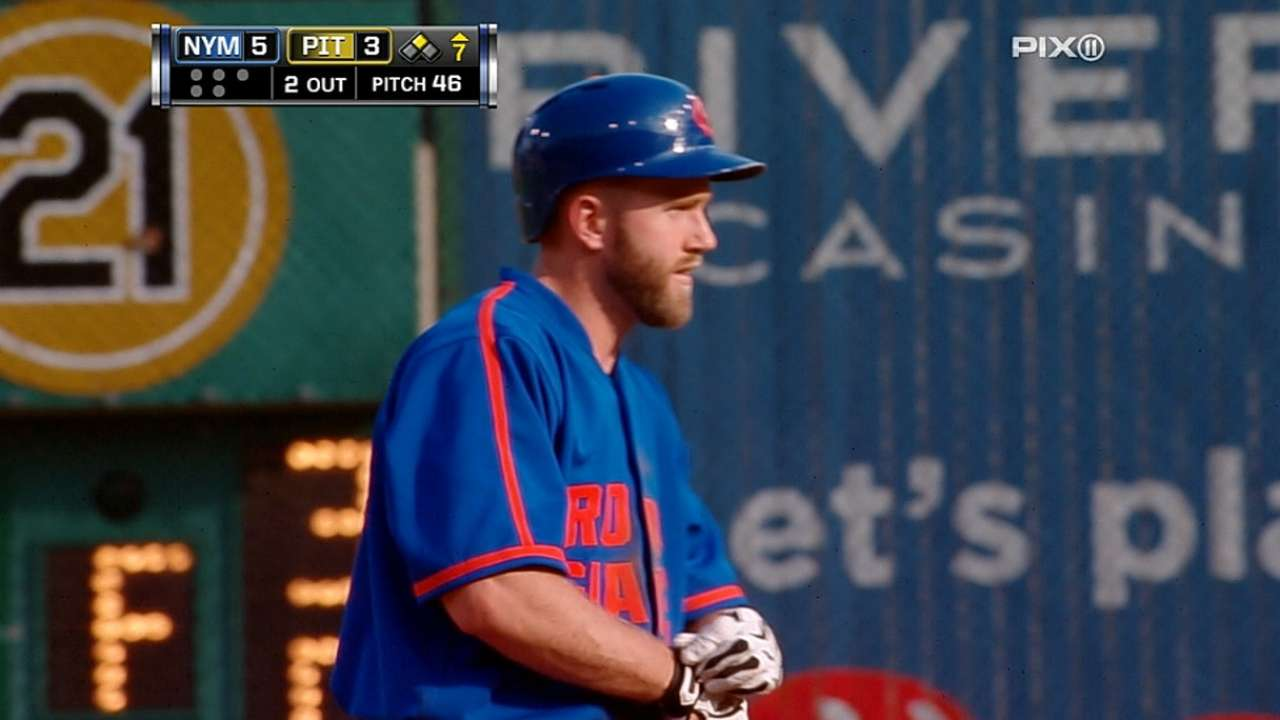 Campbell proving his worth in utility role for Mets