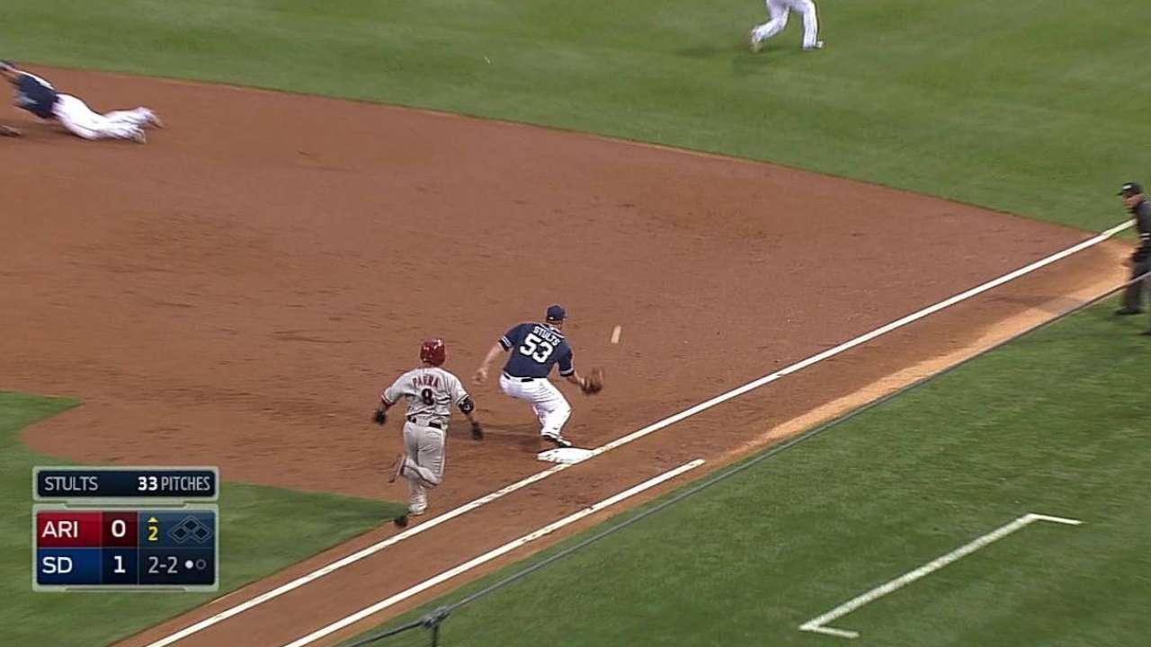 Rivera pega 2 hits pero Padres caen ante D-backs