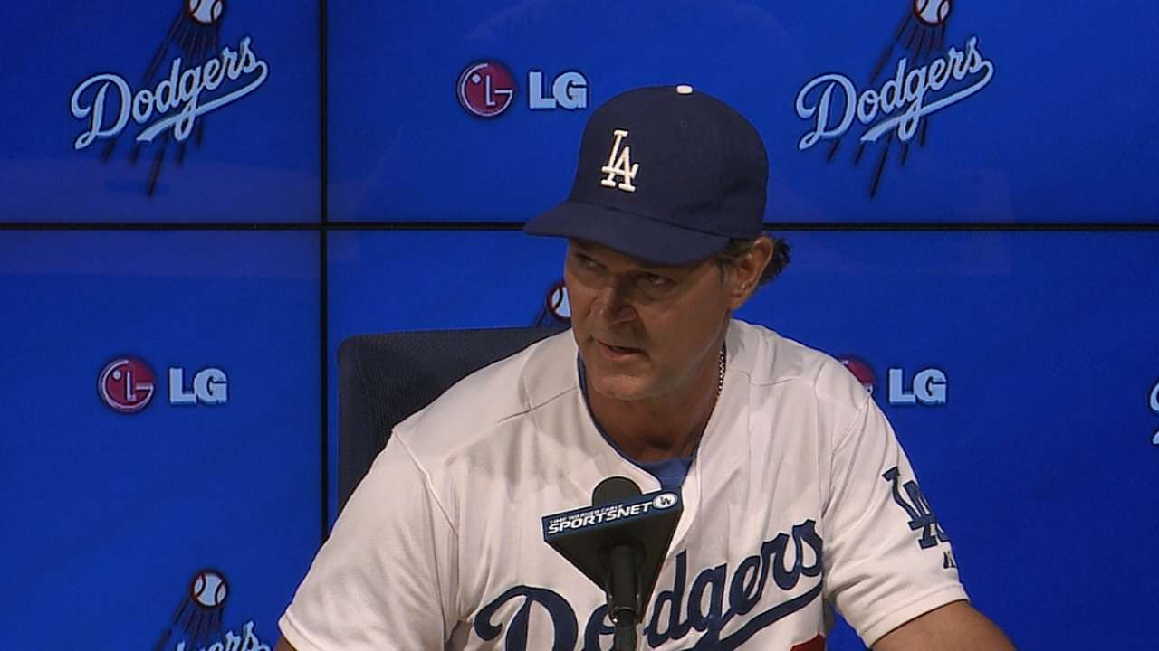 Dodgers firing on all cylinders
