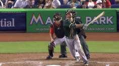 Freiman's clutch homer backs solid Milone