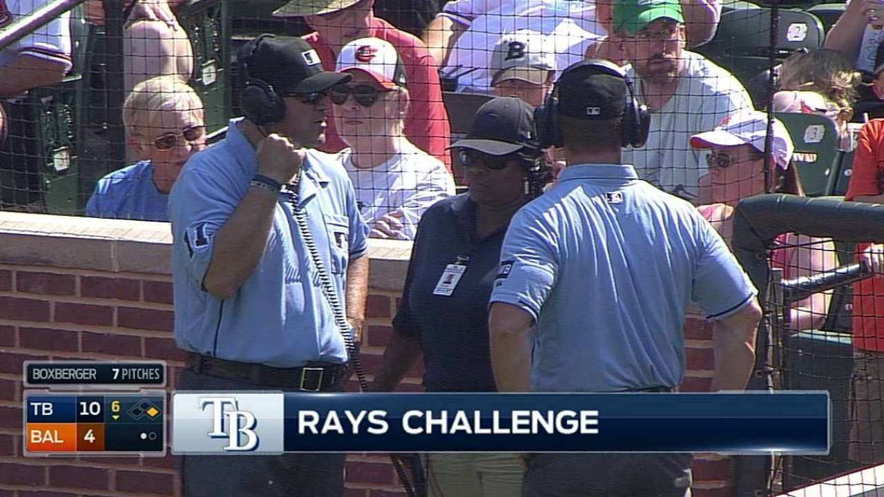 Rays challenge takes away Hardy's single