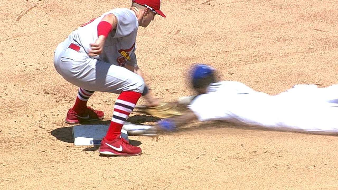 Cards eager to flee LA after offense goes cold