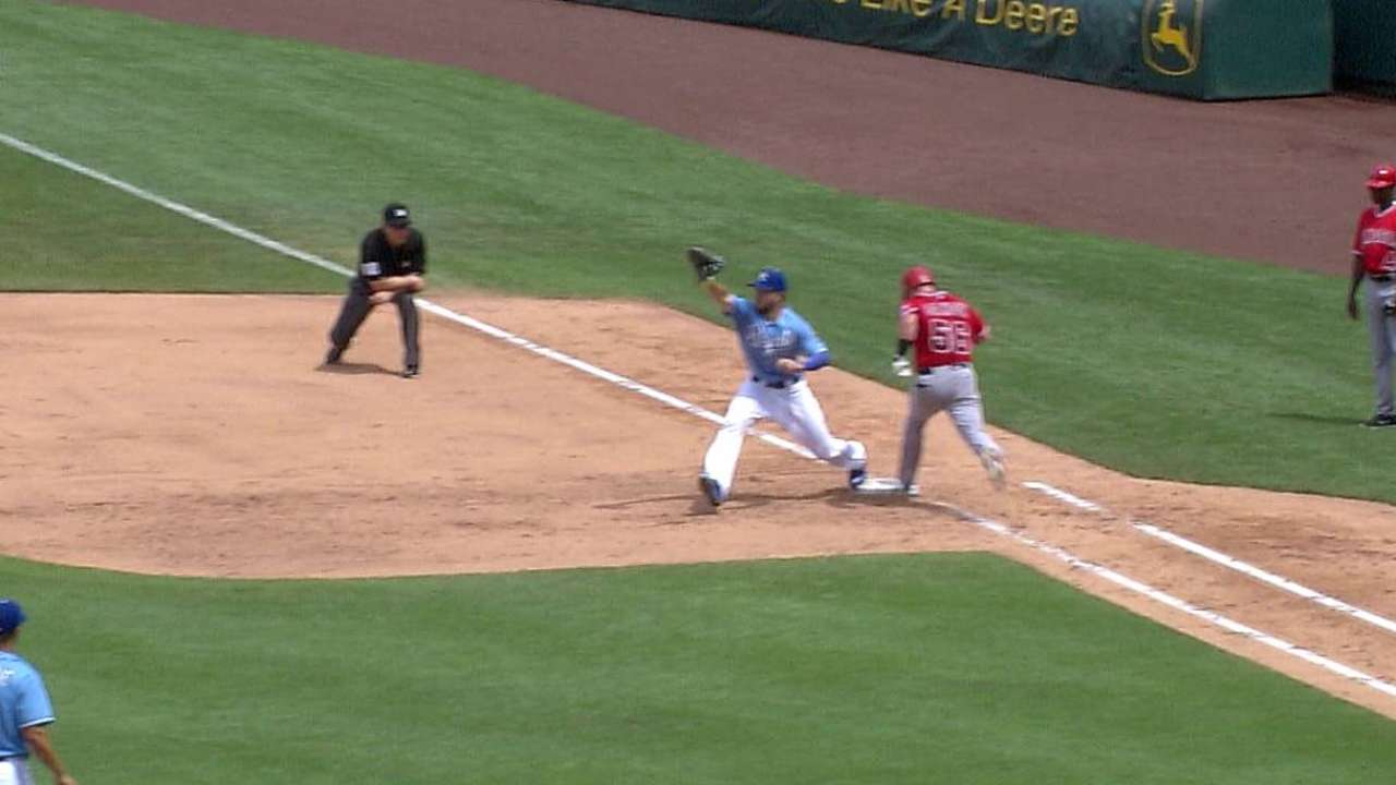 Royals' challenges net overturned calls for DPs