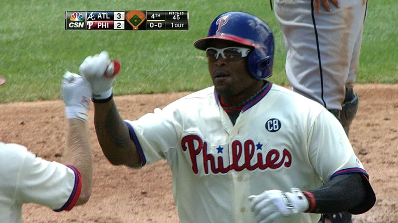 Lack of timely hits continues to plague Phillies