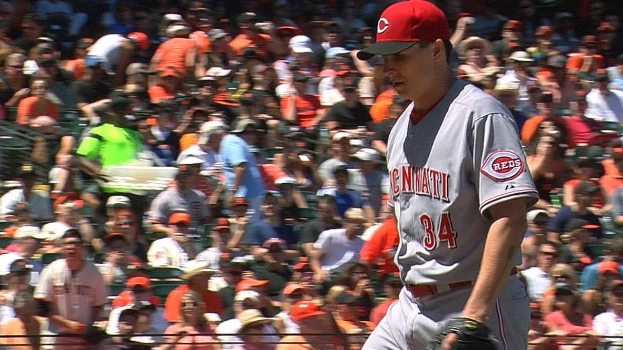 Bailey domina y Rojos sellan barrida ante Gigantes