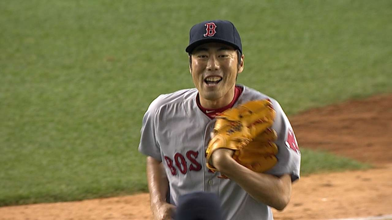 Farrell comfortable with Uehara's workload