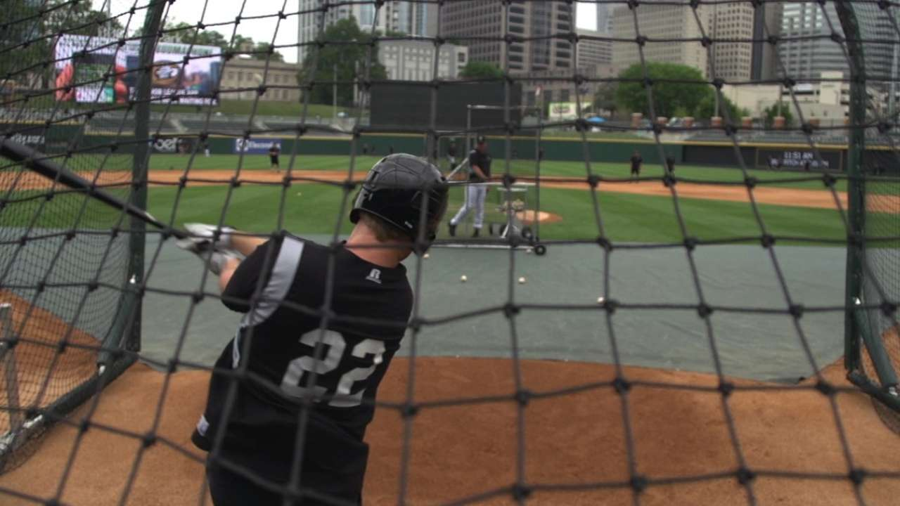 Top White Sox prospect Davidson homers twice