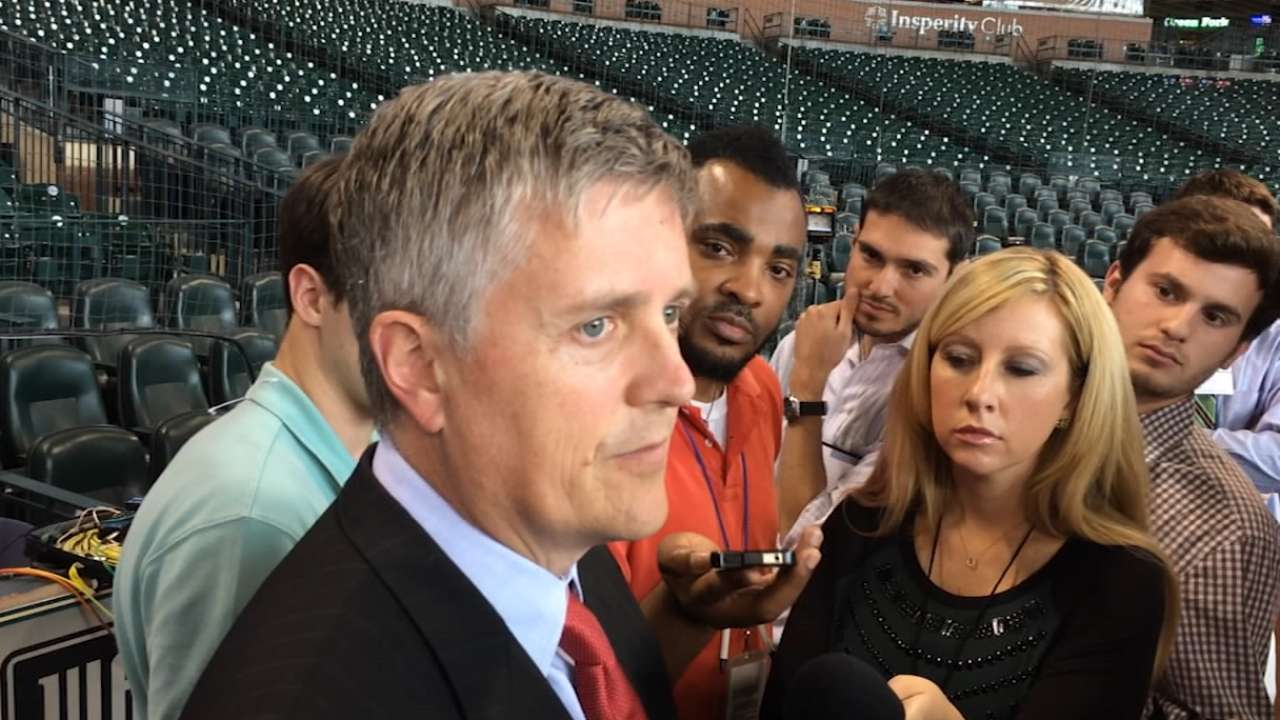 Dombrowski not bothered by Astros leaks