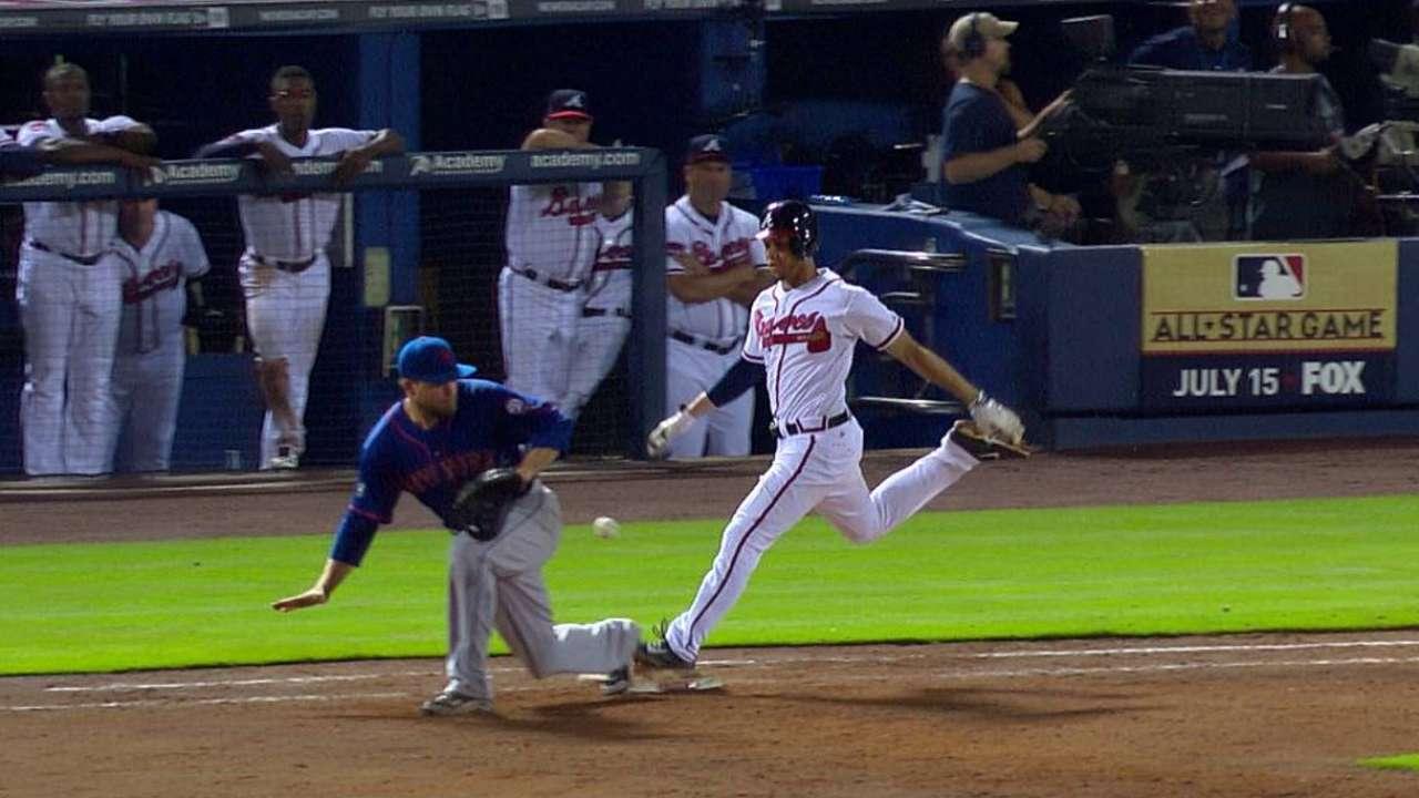 Fallas resultan en derrota de Mets ante Bravos