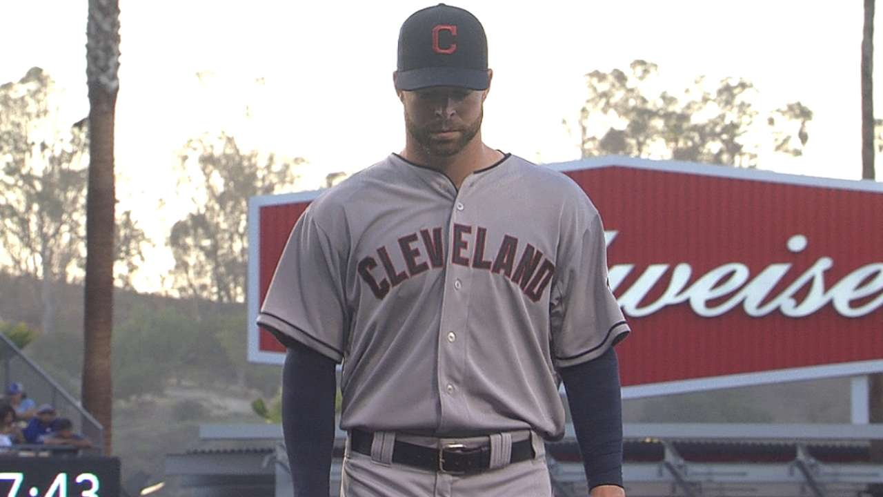 Kluber's gem for naught as Tribe is one-hit again