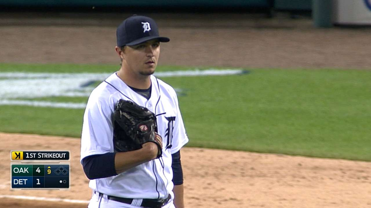 Tigers manipulate roster to keep Hardy in 'pen