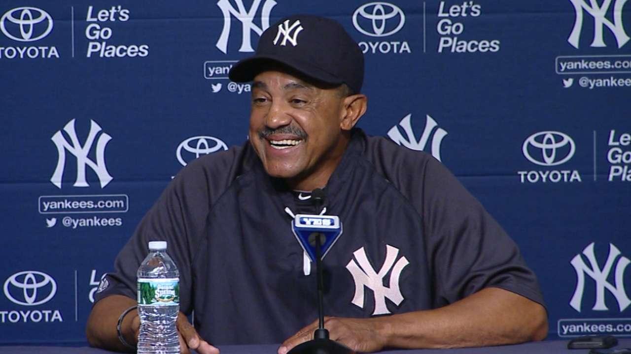 Tony Peña brinda aportes importantes en los Yankees