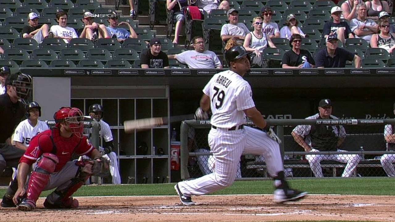 Abreu earns AL Rookie of the Month Award for June