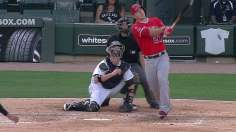 Angels' big three homer in Game 1 victory