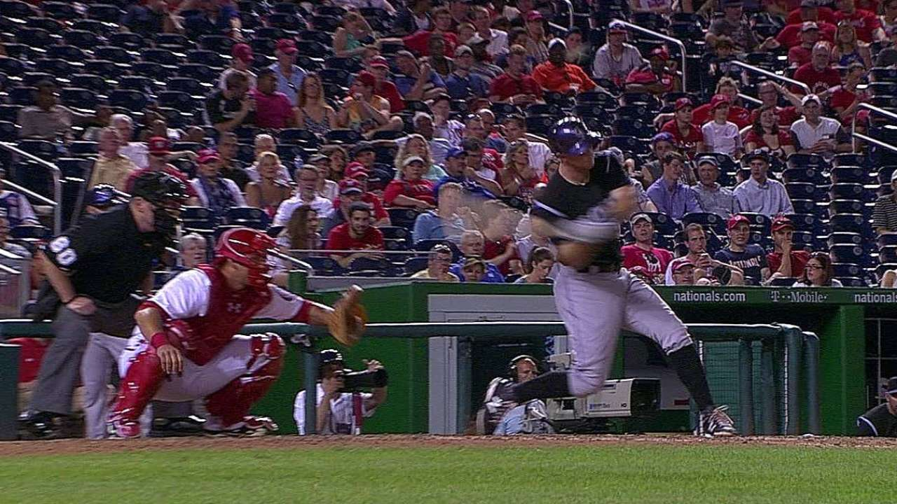 Friedrich hit early, Rockies can't recover