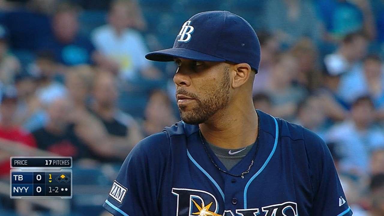 Price sometió a los Yankees con otra gran salida